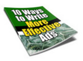 Thumbnail Write More Effective Ads (PLR)