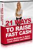 Thumbnail 21 Ways to Raise Fast Cash (MRR) 2010