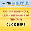 Thumbnail PHP For Beginners eBook and Videos