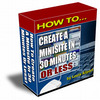Thumbnail How To CREATE A MINISITE IN 30 MINUTES OR LESS