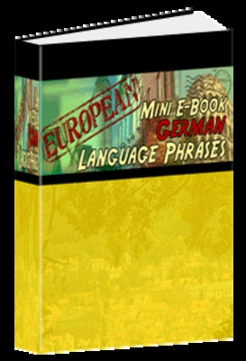 Product picture Language Phrases - German (MRR)