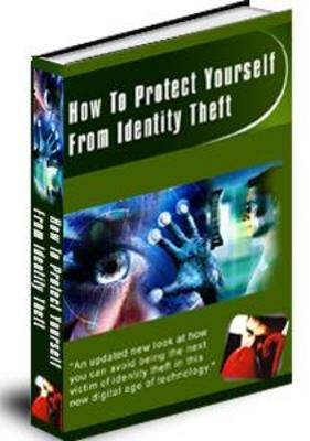 Product picture Preventing Identity Theft (PLR)