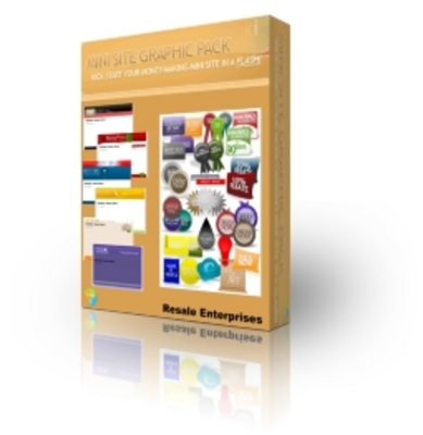 Product picture 20 Hot Ministe Templates and Graphics (PLR)