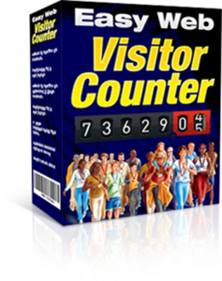 Product picture Easy Web Visitor Counter (MRR)