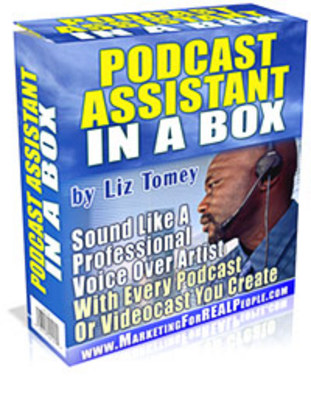 Product picture Podcast Assistant in a Box