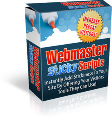 Product picture Webmaster Sticky Scripts (MRR)