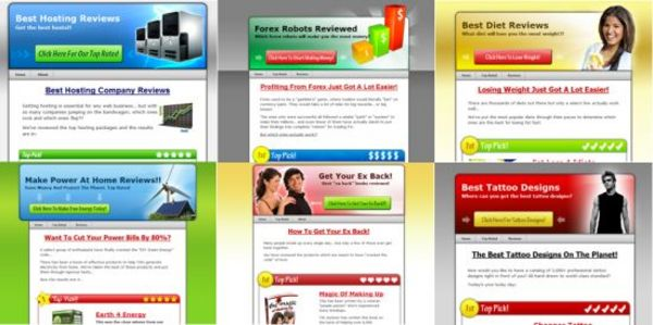 Product picture 6 Wordpress Review Sites (MRR)