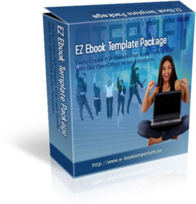 Product picture EZ Ebook Template  (MRR)