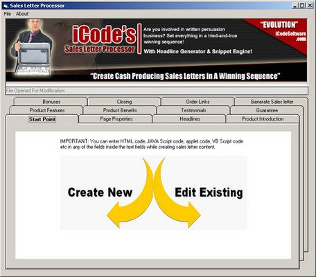 Product picture Evolution Toolbox software (PLR)