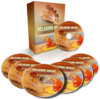 Product picture Relaxing Music Collection With (MRR)