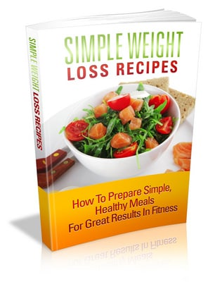 Product picture Simple Weight Loss Recipes with (MRR)(GR)