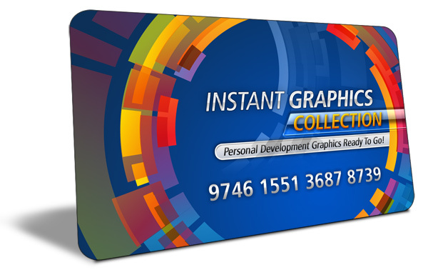 Product picture Instant Graphics Collection With (MRR)(GR)