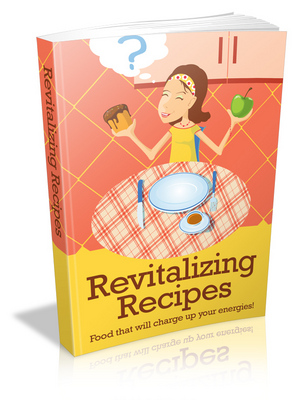 Product picture Revitalizing Recipes with (MRR)(GR)