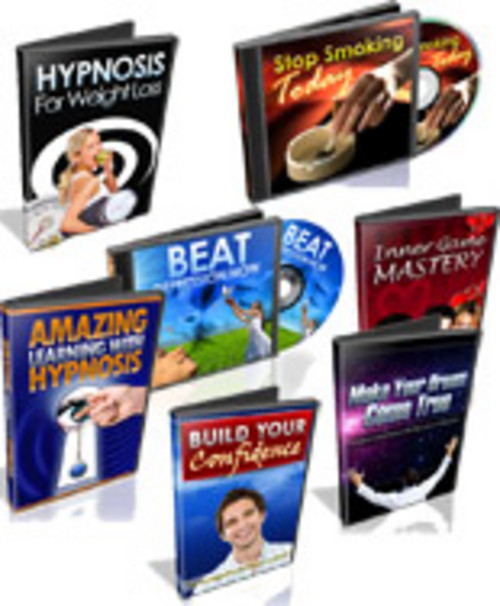 Product picture Eight Hypnosis Tracks with (PLR)