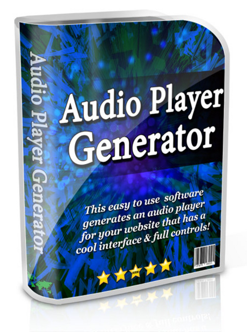 Product picture Audio Player Generator
