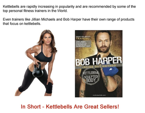 Product picture KettleBell Amazon Review Site With (MRR)