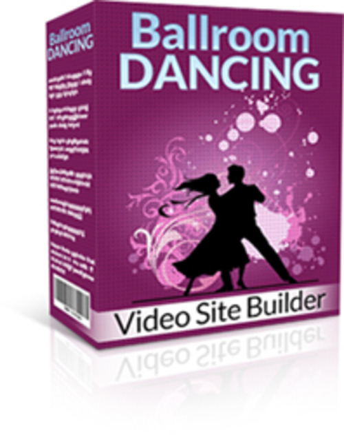 Product picture Ballroom Dancing Video Site Builder