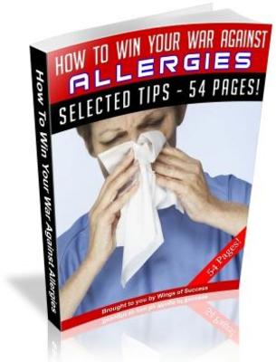 Product picture How To Win Your War Against Allergies (MRR)