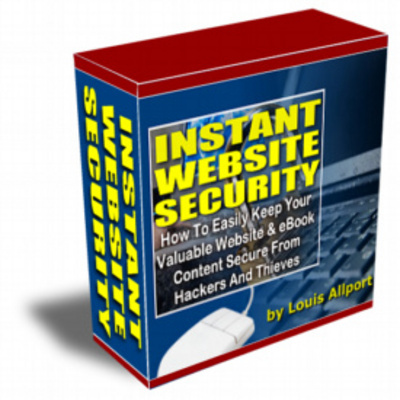 Product picture Instant website security